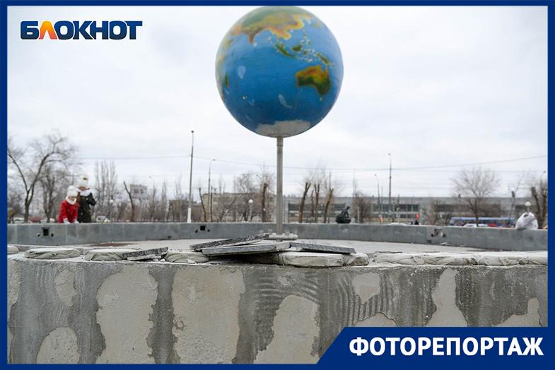 Фонтан-убийца в Краснооктябрьском районе: в объективе волгоградского фотографа
