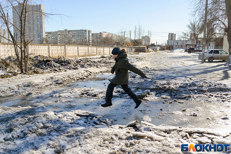 Мэрия Волгограда готовится к обещанному гололёду и снегопаду