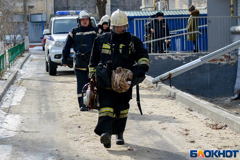 Двое мужчин заживо сгорели в Волгоградской области