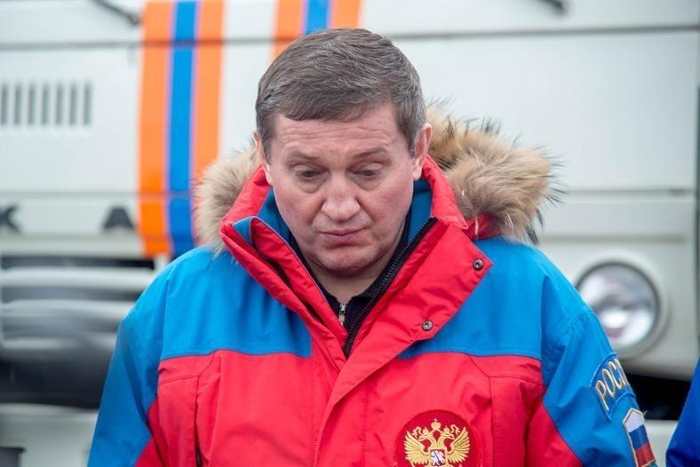 Губернатора Волгоградской области Андрея Бочарова вызвал Владимир Путин