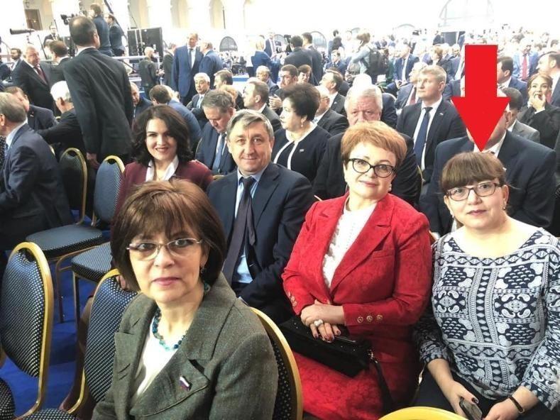 Татьяна Гензе пришла к Путину в той же одежде, в которой митинговала против пенсионной реформы