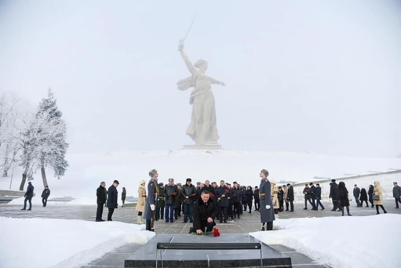 На Мамаевом кургане в Волгограде могут снести памятник защитникам Сталинграда