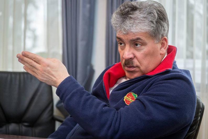 Экс- кандидат в президенты России едет в Волгоград