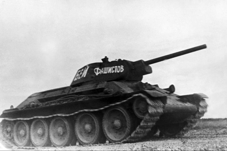 Календарь: 8 февраля 1942 год – Сталинградский тракторный завод наградили орденом за танки Т-34
