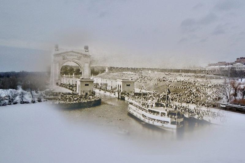 Тогда и сейчас: 27 июля 1952 года в Волго‑Донской канал вошел первый теплоход - «Иосиф Сталин»