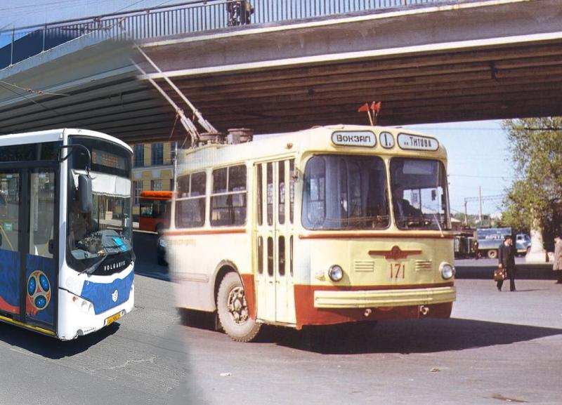 Тогда и сейчас: каким был раньше общественный транспорт Волгограда