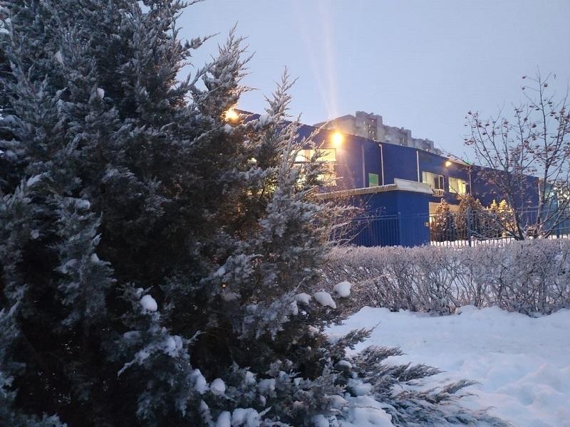 Снег и небольшой мороз: в Волгограде продолжается зимняя сказка