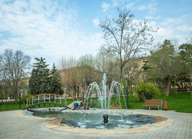 Пруд, скейт-парк, сухой фонтан: новое благоустройство на центральной набережной волгоградцы увидят к 9 мая