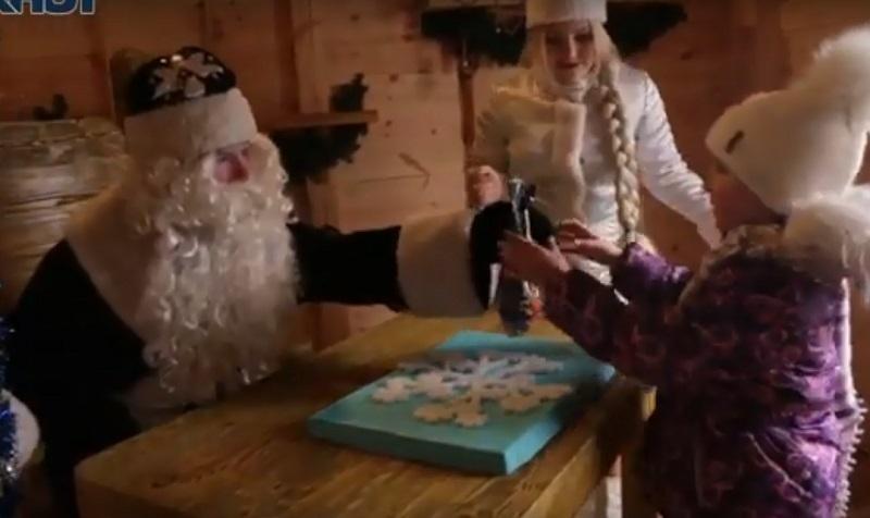 Дед Мороз начал принимать гостей в своей волгоградской резиденции