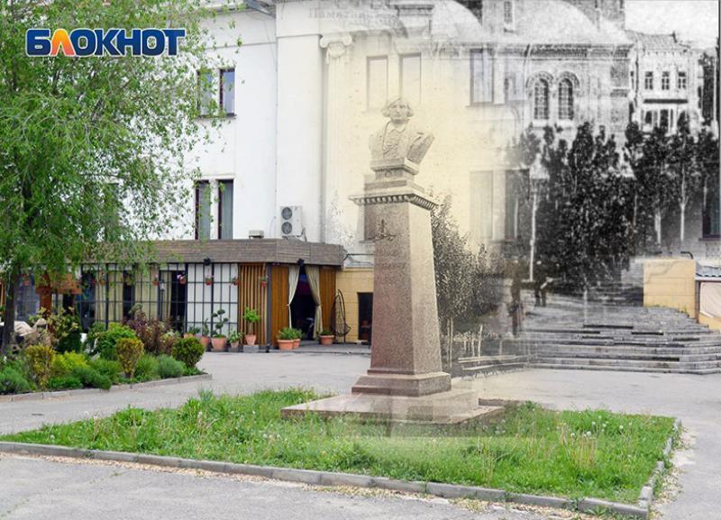 Тогда и сейчас: памятник, которому больше 100 лет – памятник Гоголю в Волгограде