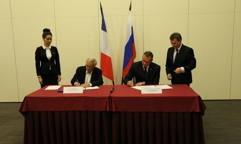 У Волгограда появились французские бизнес-партнеры