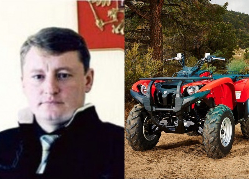 Подробности гибели на квадроцикле председателя Алексеевского районного суда Олега Карпенко