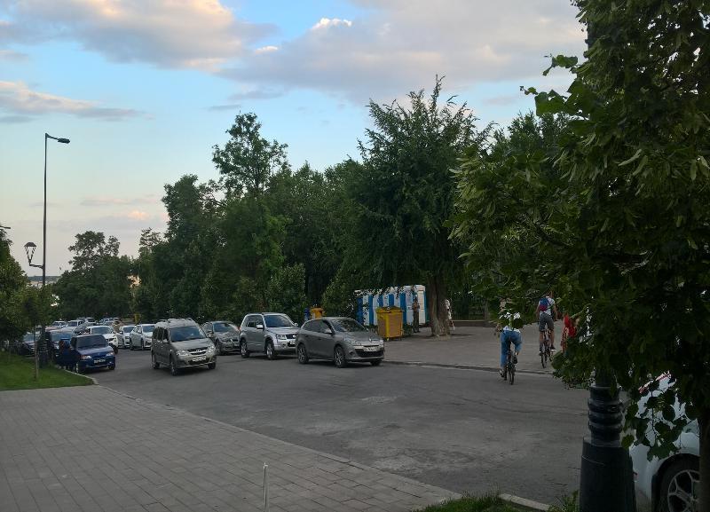 Про пешеходные переходы забыли на обновленной набережной в Волгограде