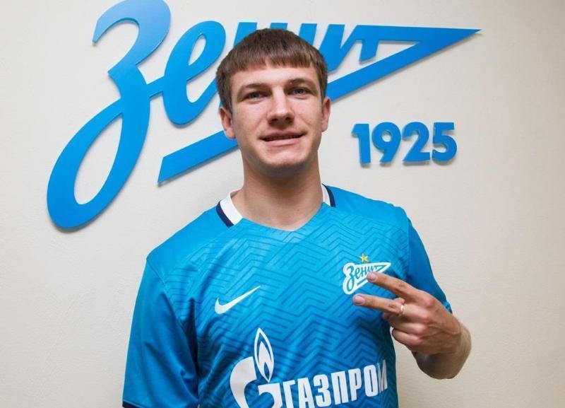 Бывший игрок питерского «Зенита» перебрался в волгоградский «Ротор»