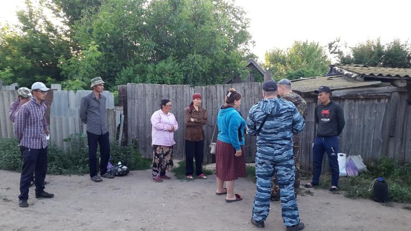 В полях под Волгоградом полиция нашла четырех мигрантов, живших в «Газели»