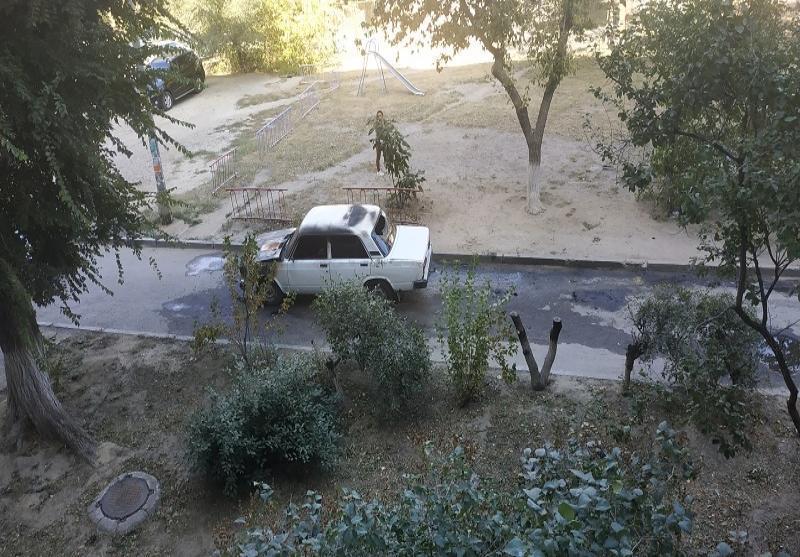Появились подробности пожара с «семеркой» и подростками на Елецкой в Волгограде
