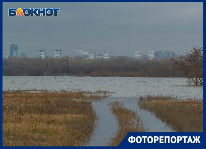 Внезапный осенний паводок за хутором Бобры обнаружили волгоградцы