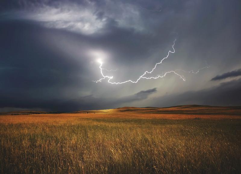 Гроза с сильным ветром обрушатся на Волгоградскую область