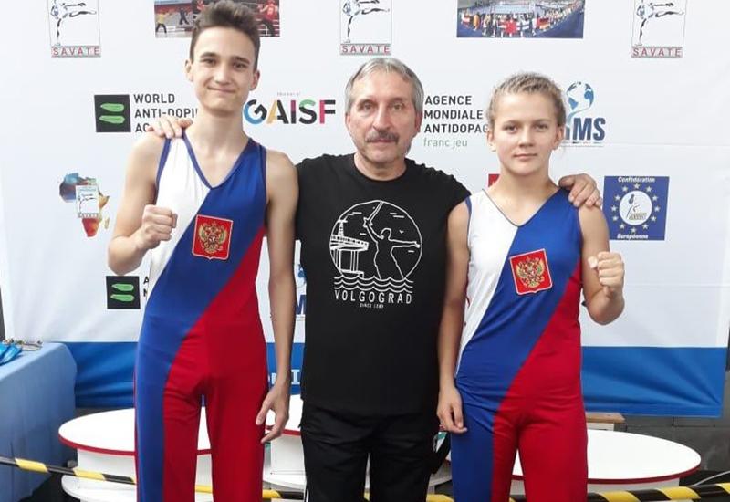 Юные волгоградцы завоевали золото на первенстве мира
