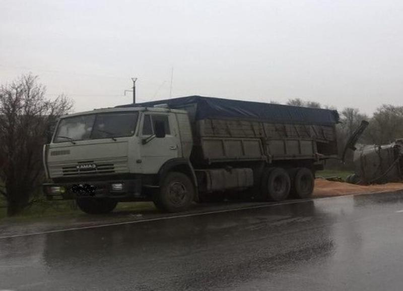 Пенсионер выжил после наезда КаМАЗом под Волгоградом