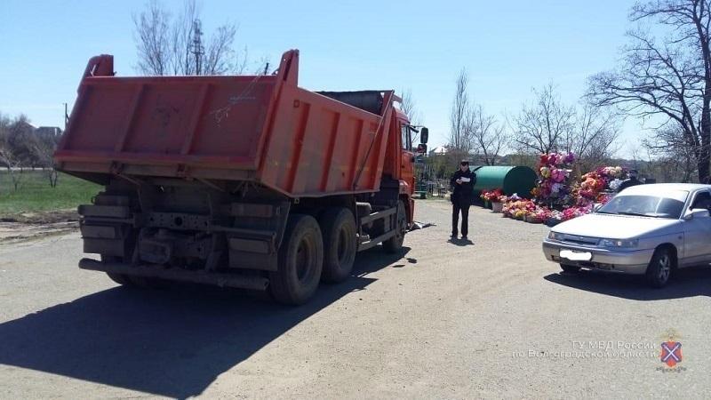 Подробности ДТП на кладбище в Городище, где КамАЗ насмерть сбил пенсионерку