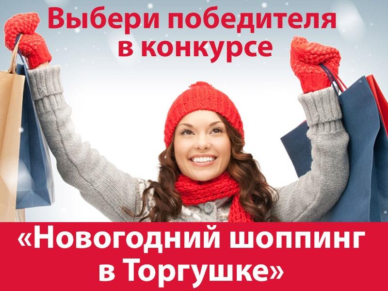Стартовало голосование в конкурсе «Новогодний шоппинг в торгушке»