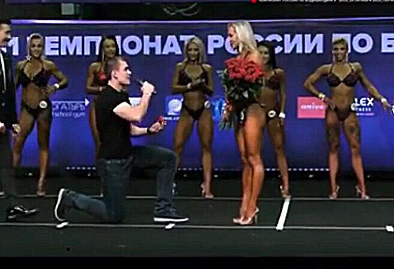 Как в сказке: красавице-спортсменке из Волгограда сделали предложение прямо на сцене
