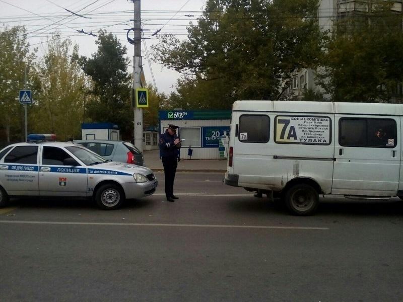 В Волгограде водитель