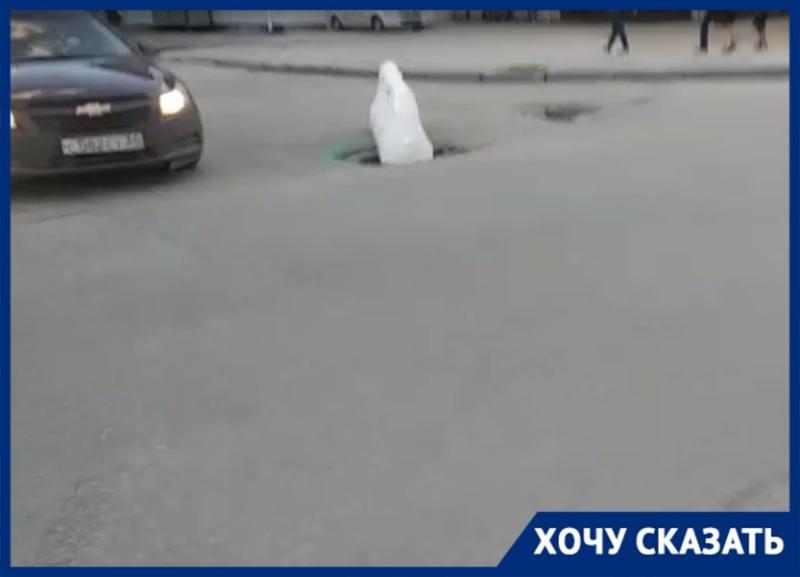 Результаты ямочного ремонта после многократных жалоб показал волгоградский активист