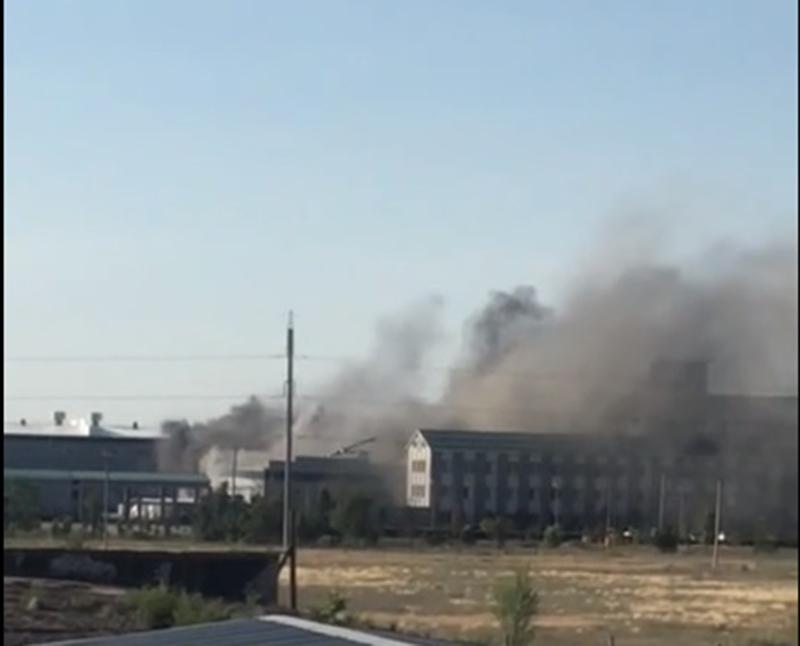 Сгорел цех и главные лаборатории компании GRASS под Волгоградом