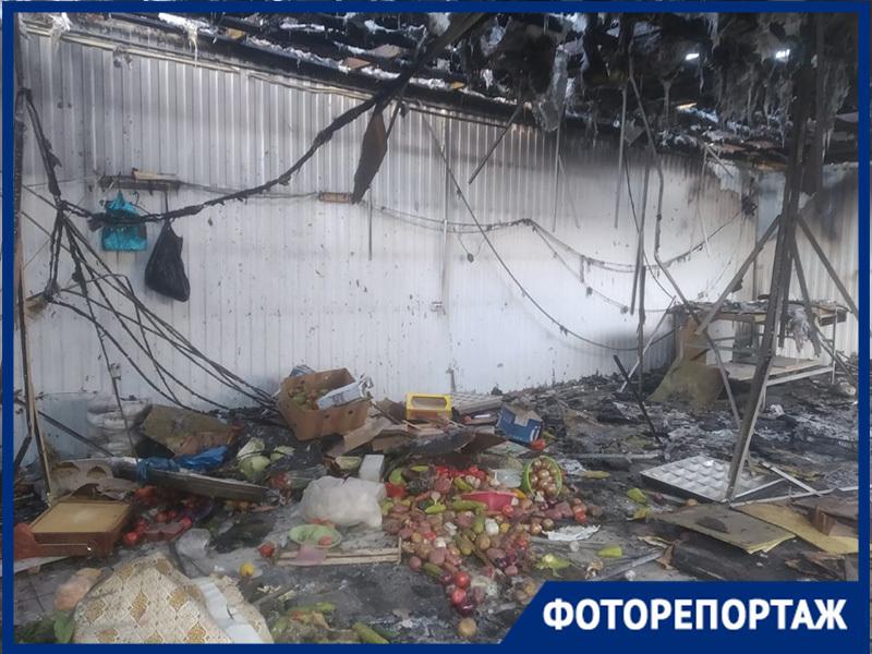 Рынок «Олимпия» заработал в Волгограде после крупного пожара