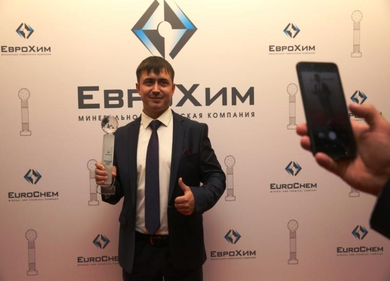 Герой спорта из Котельниково получил награду «ЕвроХима»