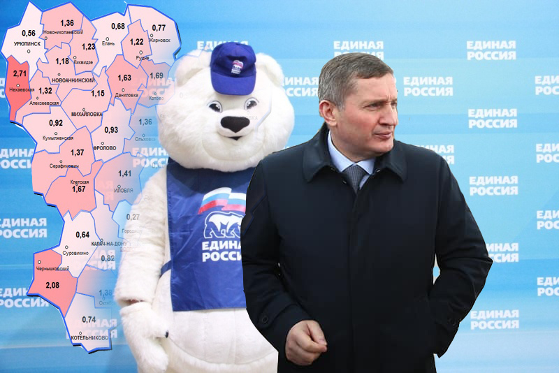 Прошла любовь: губернатор Андрей Бочаров отказался возглавить список «Единой России» на выборах