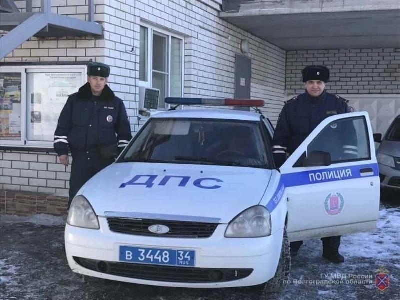 Инспекторы ДПС пришли навыручку семье изФролово