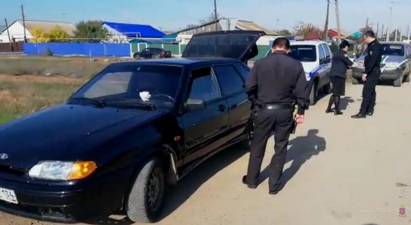 Злостный нарушитель ПДД не оплатил 222 штрафа и лишился машины под Волгоградом