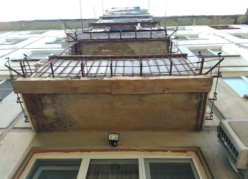 После публикации «Блокнот Волгограда» жительнице Тракторозаводского района все-таки починили опасный балкон