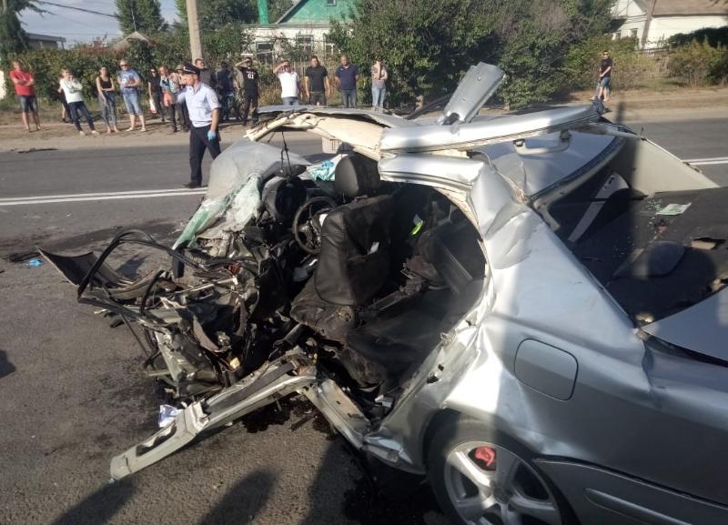 Страшная авария на проспекте Ленина в Волжском попала на видео: 6 пострадавших, 1 погиб