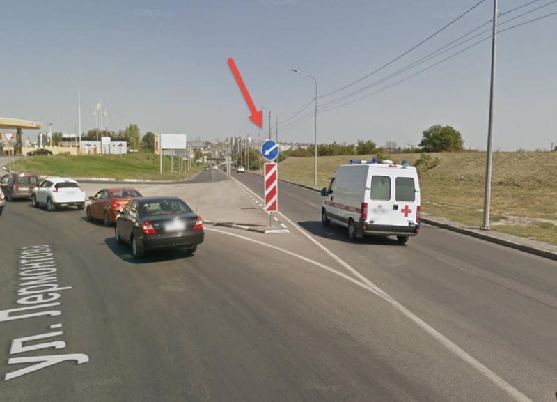 Волгоградцы возмущены проблемным дорожным знаком рядом с Мамаевым курганом