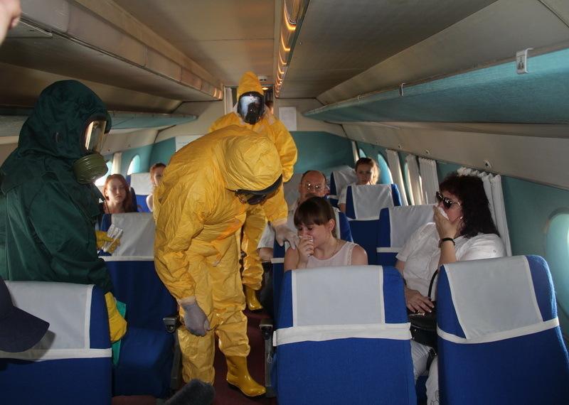 Волгоградский Роспотребнадзор проверил пассажиров почти 700 воздушных судов