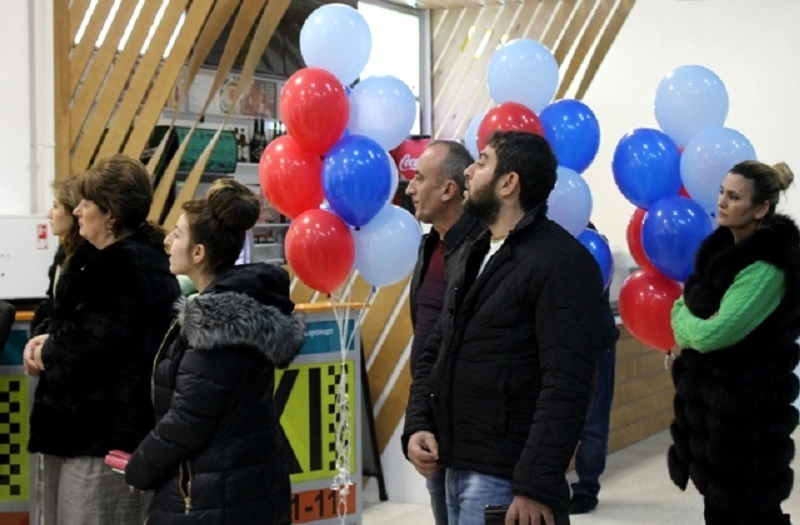 Туман не помешал волгоградскому аэропорту встретить первых пассажиров из Еревана