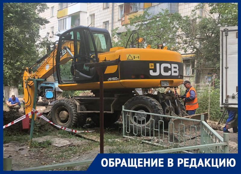 С кипятком в кранах вторые сутки выживают жители дома на Ангарской в Волгограде