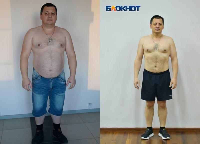 Победитель проекта «Сбросить лишнее-2» похудел на 30 кг