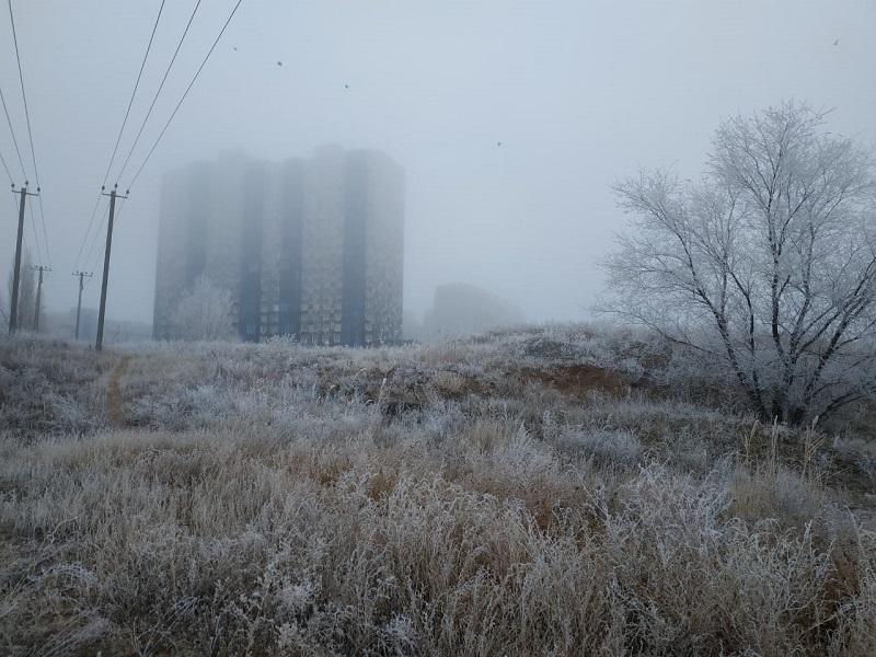 Волгоградцев предупреждают о мокром снеге с дождем
