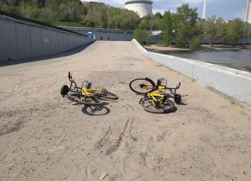 «Не осталось ни одного «желтого»: волгоградцы заметили, что победили велошеринг в городе