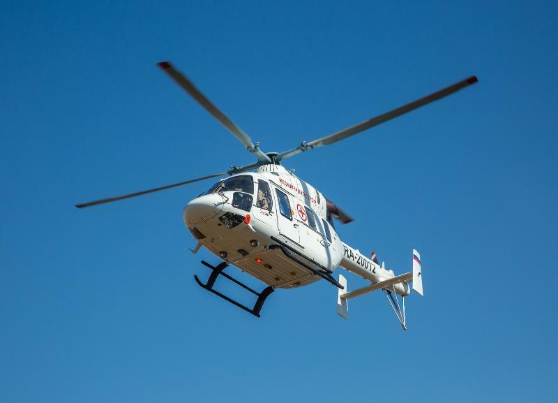Четырех беременных жительниц Волгоградской области вертолетом доставили в больницу