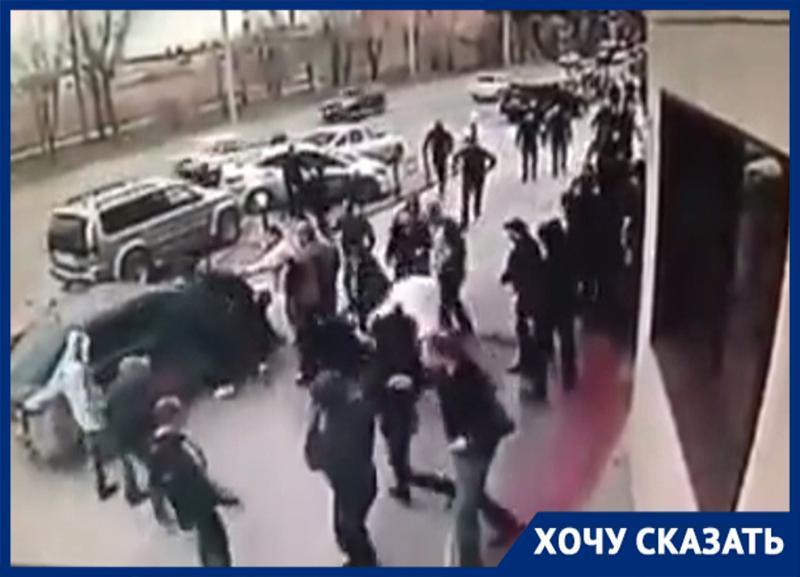Из десятков участников конфликта с перестрелкой и гранатой у «Каспия» в Волжском к ответственности привлекли всего 2 человека