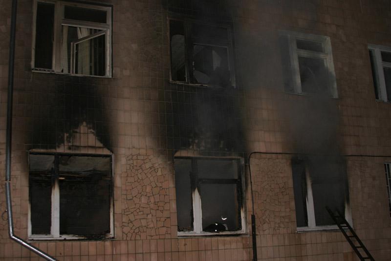 В Волгограде произошел пожар в детском социально-реабилитационном центре