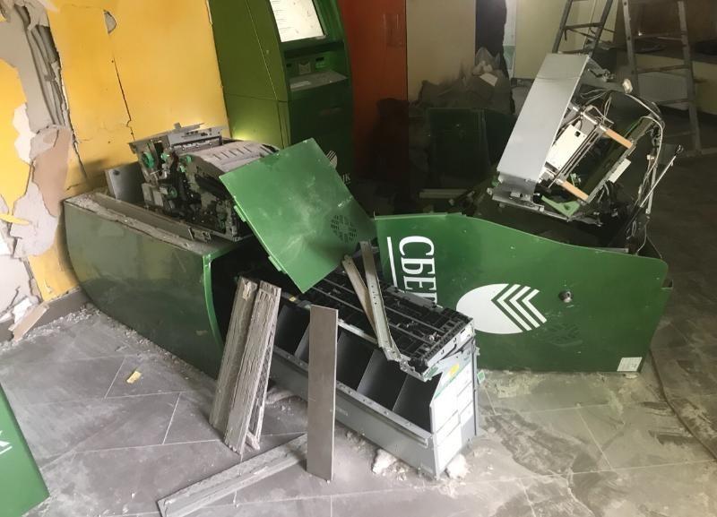 Названа сумма, которую украли из подорванного банкомата Сбербанка в Волгограде