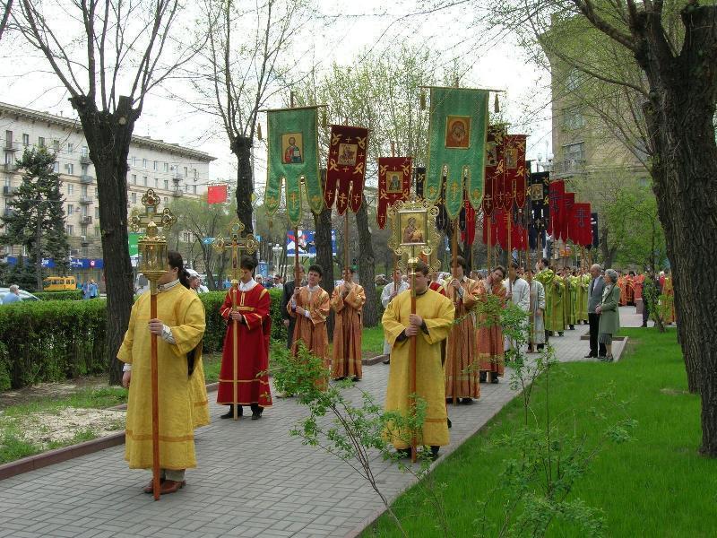 Крестный ход в честь святого Александра Невского пройдет в Волгограде
