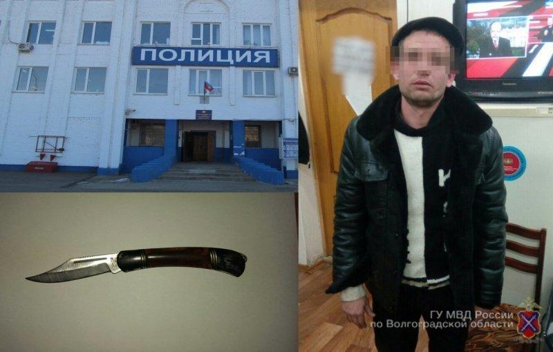 ВКрасноармейском районе разбойник сножом похитил уженщины телефон